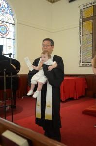 Rev. Choi Baptism
